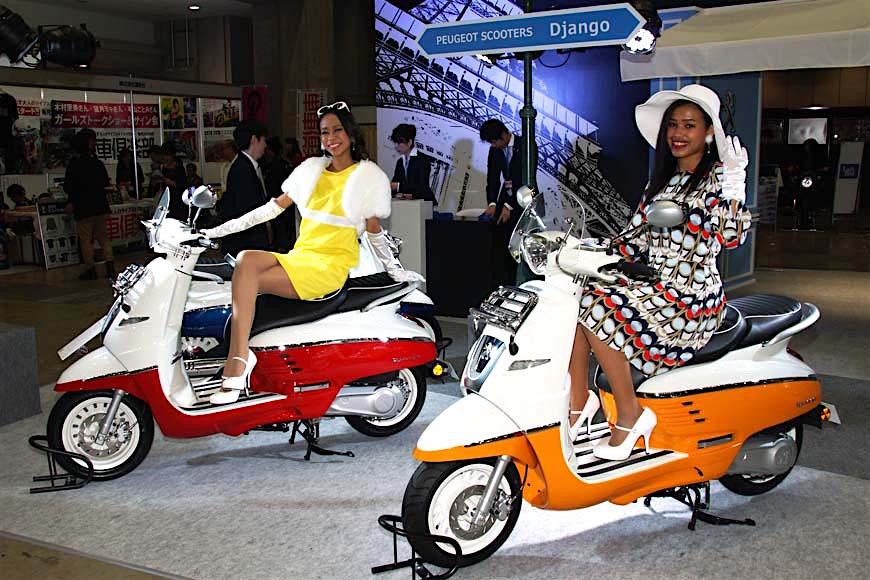プジョーは現存する世界最古のバイクブランド〜プジョースクーターが国内販売開始