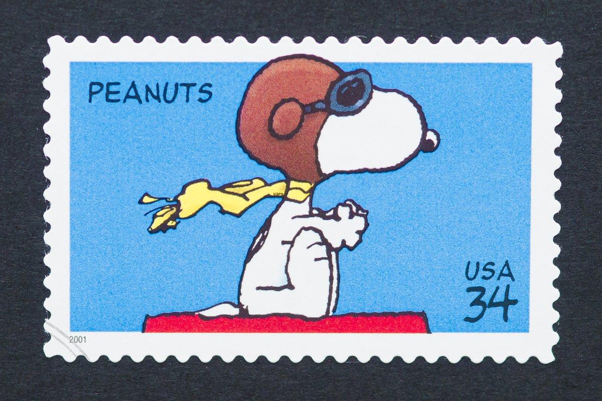 【郵便局】50周年記念「スヌーピー切手セット」ファンの間でこれは買いと話題